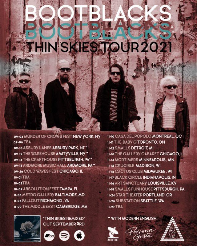 Bootblacks announce US/Canada tour!