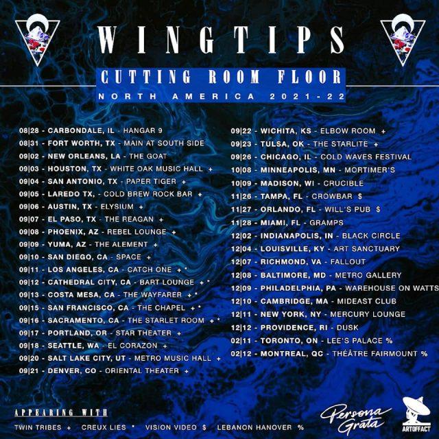 WINGTIPS on tour!