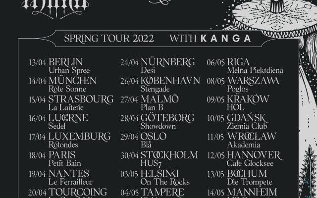 Kælan Mikla announces EU tour with guest KANGA